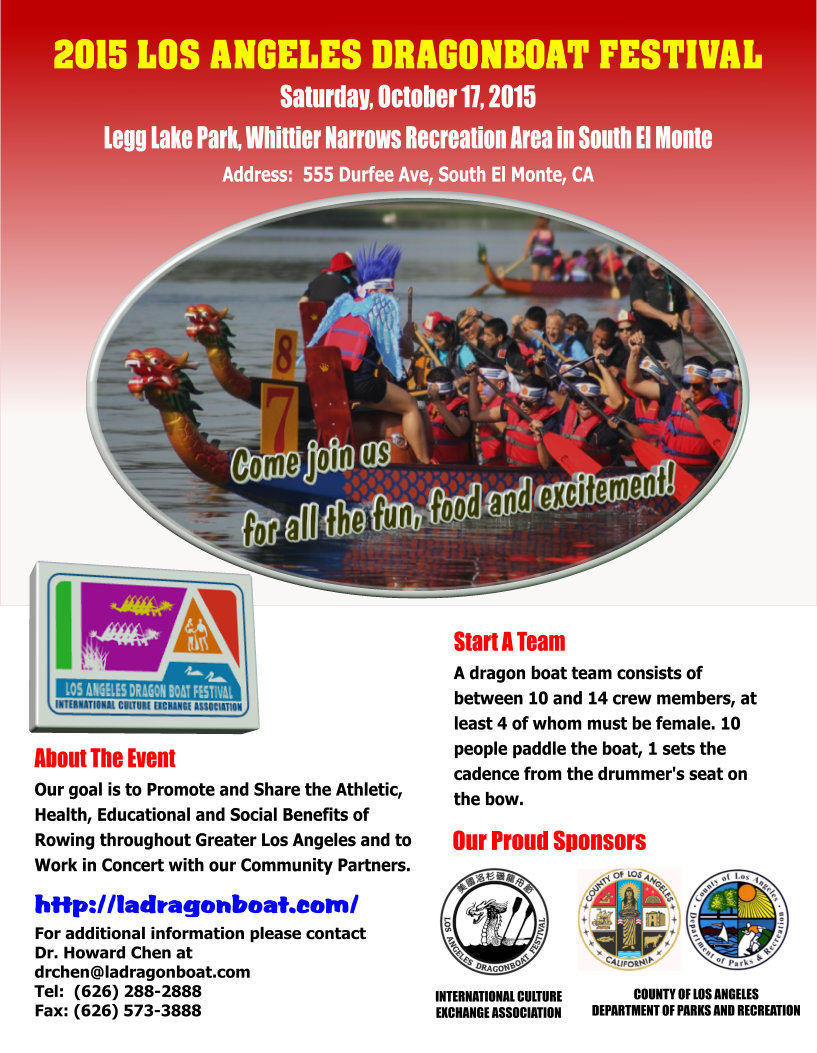 2015 Los Angeles Dragon Boat Festival