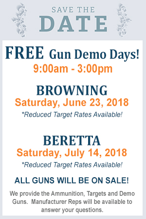 Free gun demo day at Triple B Clays - Beretta Caesar Guerini Fabarm Syren Shotgun