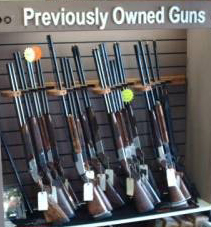 Preowned shotguns for sale